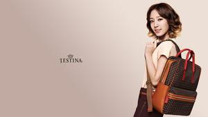 SNSD Taeyeon Jestina kertas dinding