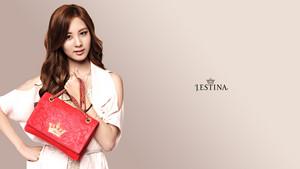 SNSD Seohyun Jestina kertas dinding