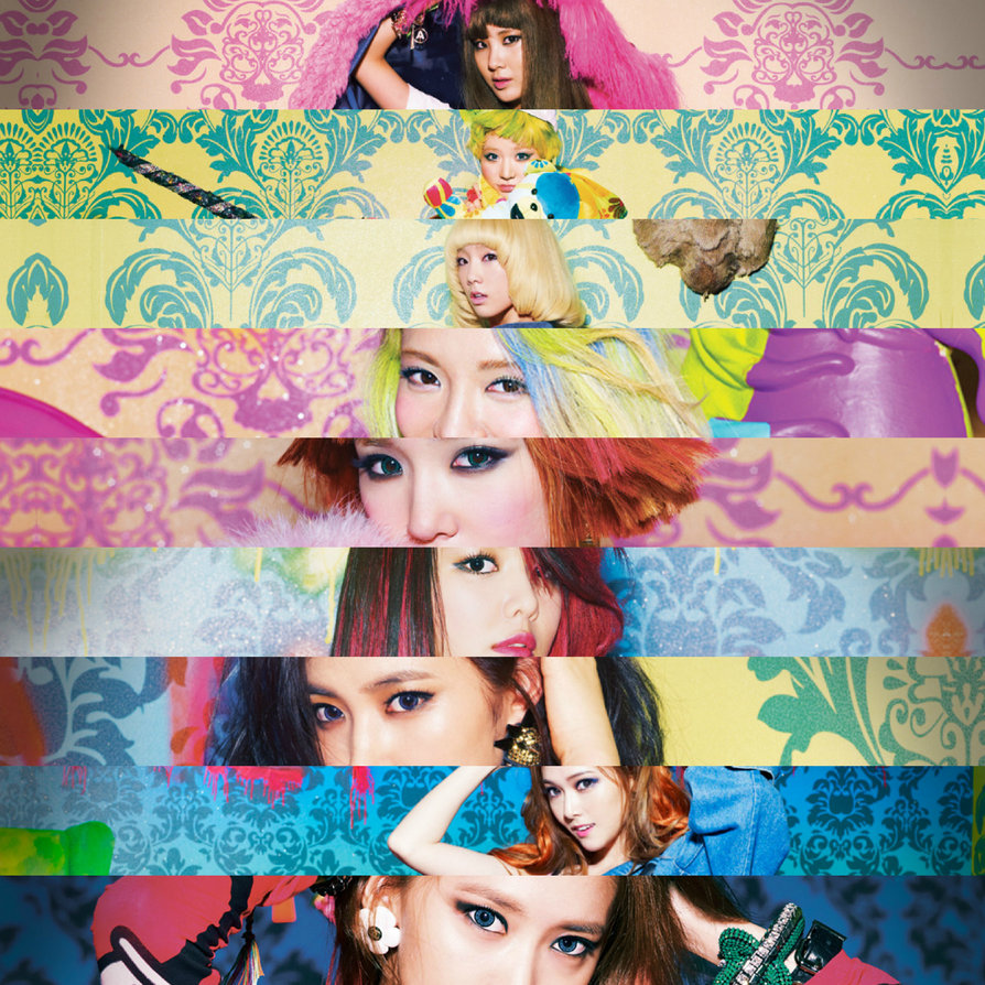 SNSD I GOt A Boy FAces