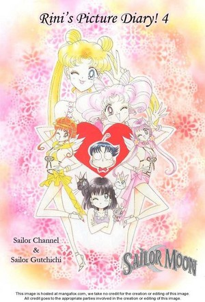 Sailor Moon 日本漫画 : Rini's Picture Diary! 4