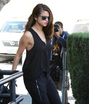 Selena out in LA - January 29th