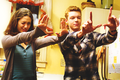 Fiona and Ian Gallagher