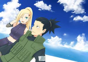 Sikamaru and Ino