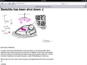 Sketchfu has been shut down