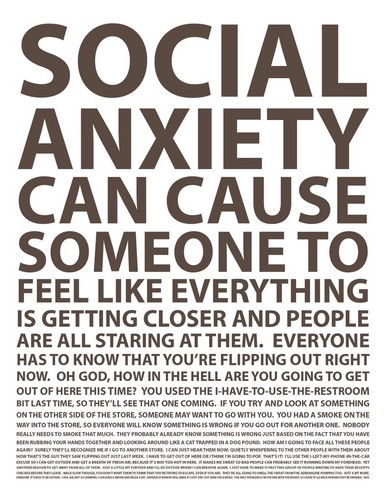 Social Anxiety wallpaper possibly with anime titled Social Anxiety