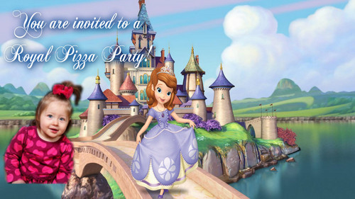 Sofia The First wallpaper entitled invitation