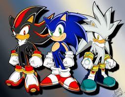 sonic shadow silver