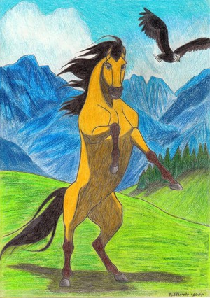 Awesome Spirit drawing!