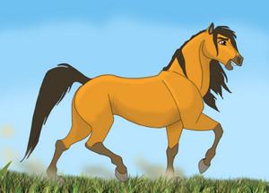 Spirit galloping