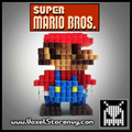3D Perlerbead Super Mario - super-mario-bros photo