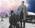 Dean and Castiel   - supernatural fan art