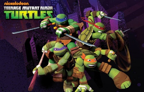Teenage Mutant Ninja Turtles Wallpaper Entitled TMNT Leo Raph Donnie And Mikey