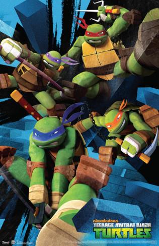 Ninja Turtles 2012 Wallpaper Teenage Mutant Images TMNT Present And