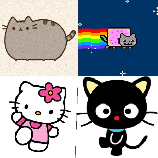 Pusheen Nyan Cat Pusheen Nyan Cat Hello Kitty