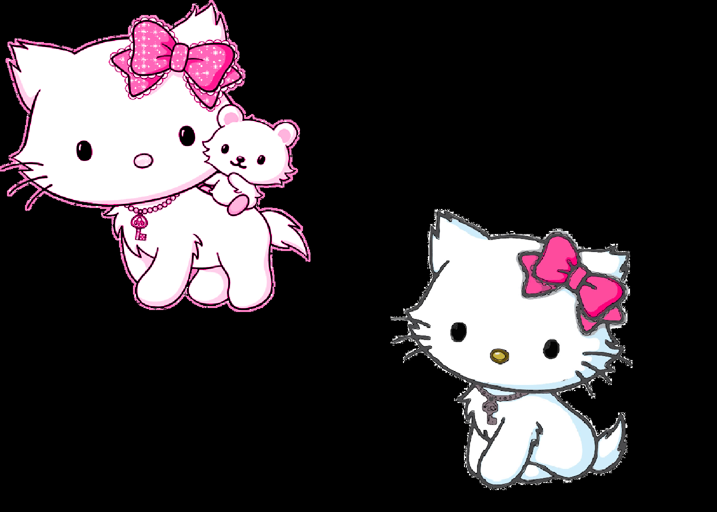 Talking And Having Fun Images Charmmy Kitty Wallpaper HD Background Photos