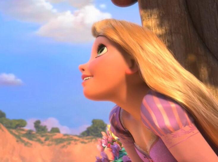 Rapunzel dreaming