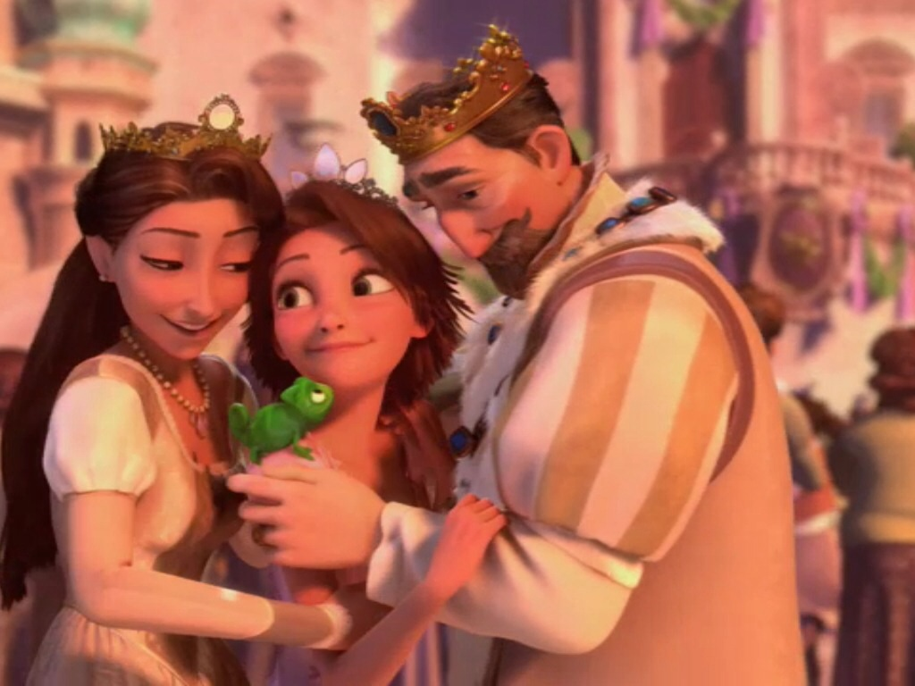 Rapunzel and her family