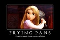 Frying pans  - tangled photo
