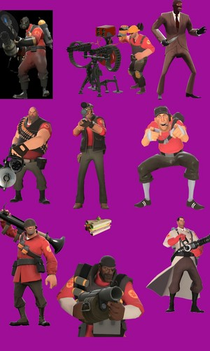 The Team Fortress 2 achtergrond I have