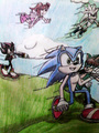 Team of Choice (Sonic and Rachel Memories) - sonic-fan-characters photo
