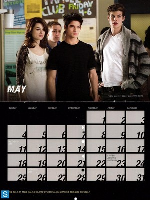 Teen 狼 - Season 3 - 2014 Calendar Promotional 照片