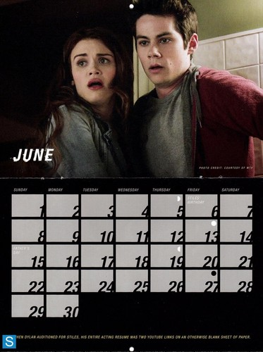 Teen Wolf wallpaper entitled Teen Wolf - Season 3 - 2014 Calendar Promotional Photos