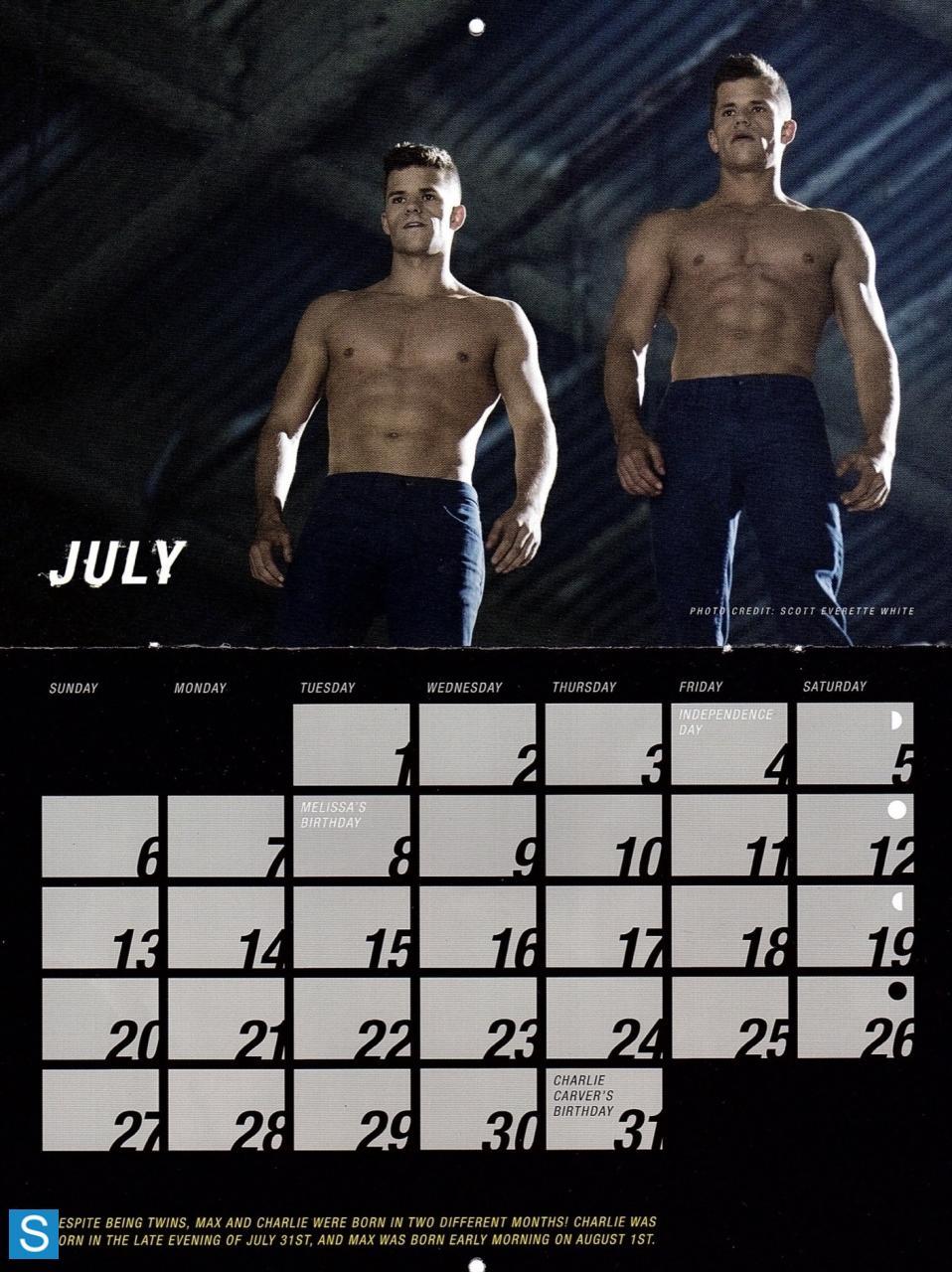 Teen волк - Season 3 - 2014 Calendar Promotional фото