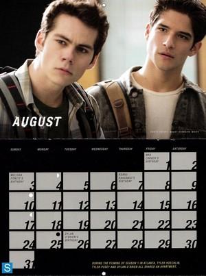 Teen wolf - Season 3 - 2014 Calendar Promotional Fotos