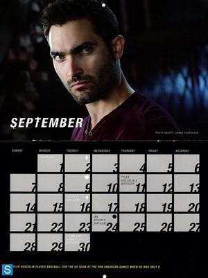 Teen lupo - Season 3 - 2014 Calendar Promotional foto