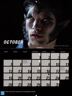 Teen serigala, wolf - Season 3 - 2014 Calendar Promotional foto-foto