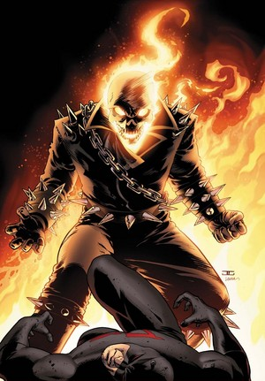 ghost rider vs batman