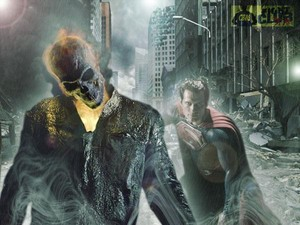 ghost rider vs Superman