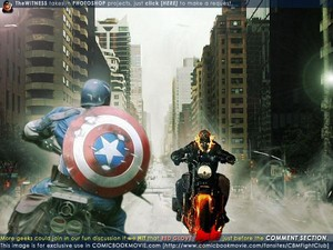 ghost rider vs captain america