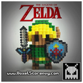 3D Perlerbead Link, hand crafted - the-legend-of-zelda photo