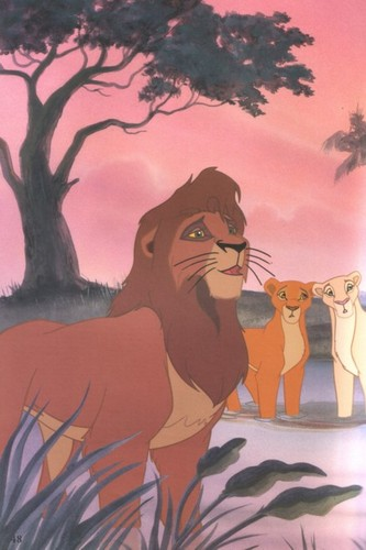 The Lion King 2:Simba's Pride wallpaper with anime titled The Lion King 2 Simba's Pride book