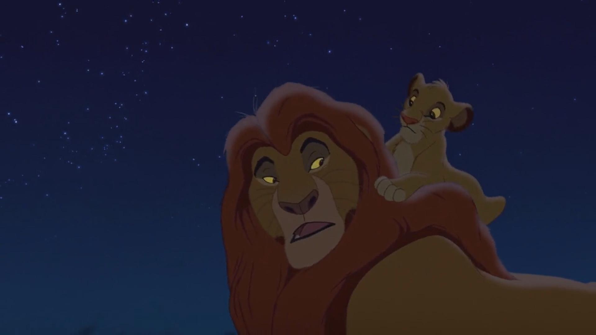 Lion King Mufasa And Simba