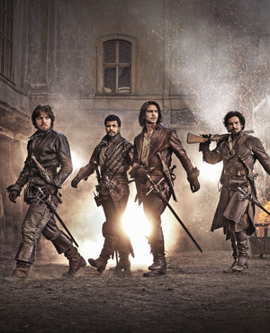 The Musketeers - Cast foto