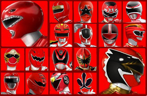 The Power Rangers wallpaper entitled The Red Rangers