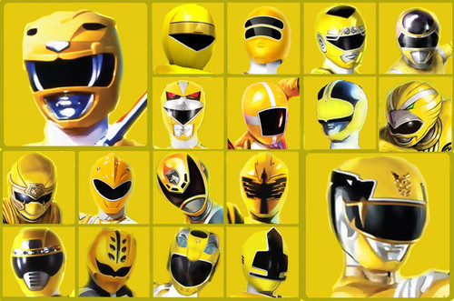 The Power Rangers wallpaper called The Yellow Rangers