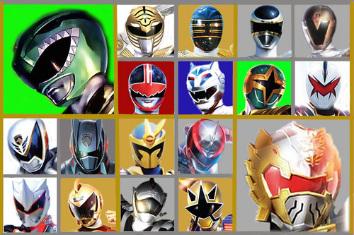 The Power Rangers wallpaper called The 6th Rangers