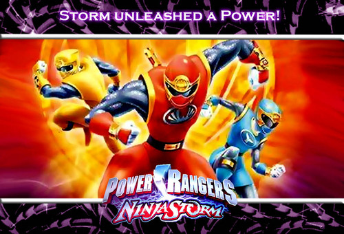 The Power Rangers wallpaper containing anime titled Power Rangers Ninja Storm