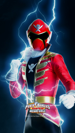 Red Super Megforce Ranger