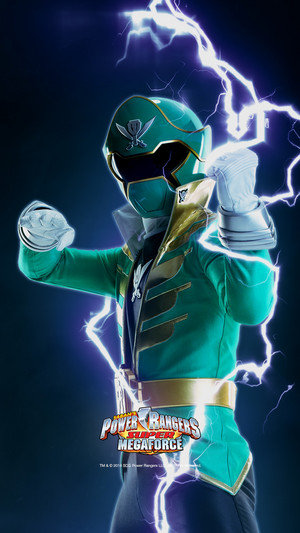 Green Super Megaforce Ranger