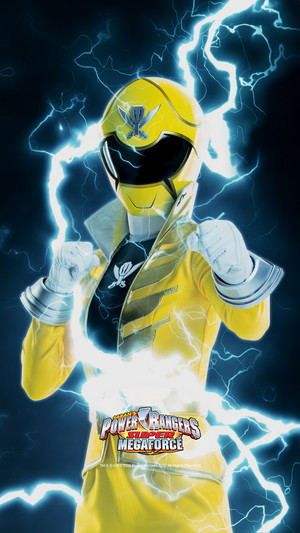 Yellow Super Megforce Ranger