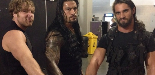 The Shield (WWE) wallpaper probably containing a workwear entitled The Shield