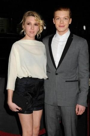 VA premiere - Cameron and Maddie Deutch