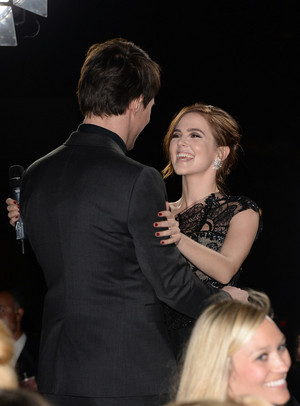 VA premiere - Zoey and Danila