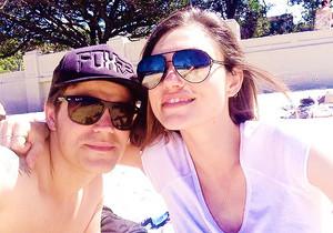 Paul Wesley and Phoebe Tonkin in Australia