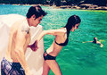 Paul Wesley and Phoebe Tonkin in Australia  - the-vampire-diaries-tv-show photo