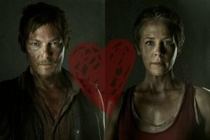 Daryl and Carol tình yêu